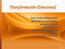Transformación Emocional.