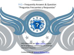 FAQ Libertagia (No Oficial)