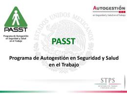 Programa de Autogestión en Seguridad y Salud en el Trabajo