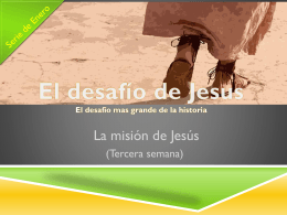 El Desafío de Jesús 3 – Power Point Multimedia