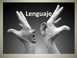 Lenguaje - filocontemporanea