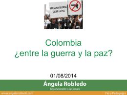 Colombia y sus guerras centenarias