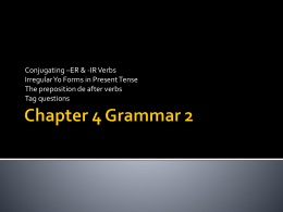 Chapter 4 Grammar 2