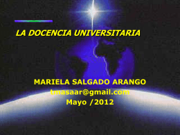 Docencia Universitaria
