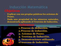 Inducción Matemática clase