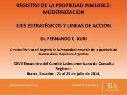 BIEN DE FAMILIA LEY 14394 - Dirección Nacional de Registro de