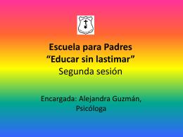 """Escuela para Padres """"Educar sin lastimar"""""""