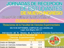 Profesores-tutores - Universidad de Jaén