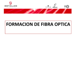formacion de fibra optica