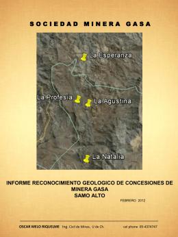 Descargar Informe Geológico Completo