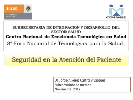 III Encuentro Nacional de Bioética - Centro Nacional de Excelencia