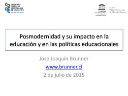 UAI_02072015 - José Joaquín Brunner