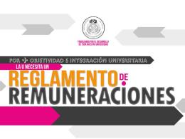 Resumen proyecto de Reglamento de Remuneraciones