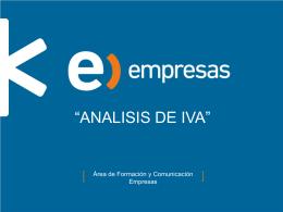 Análisis de IVAS_Formulario 29