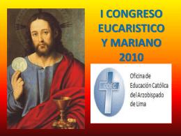 CONGRESO EUCARISTICO Y MARIANO 2010