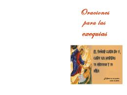 Oraciones para las exequias