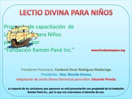 - Fundación Ramón Pané