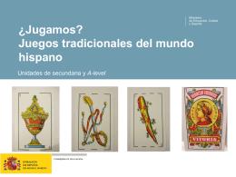 Juegos tradicionales - Ministerio de Educación, Cultura y Deporte