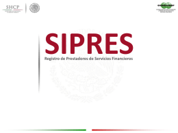 Inscripción en el SIPRES
