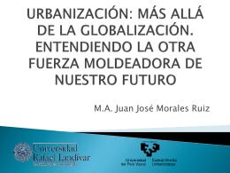 presentación de ponencia del urbanismo