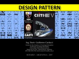 Design pattern - Universidad Abierta Interamericana