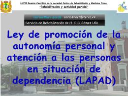 Ley de promoción de la autonomía personal y atención