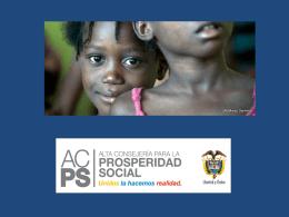 Alta Consejería para la Prosperidad Social