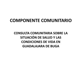 Intruduccion Comunitario y Grupo Focal