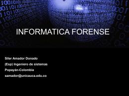 investigador en computación forense