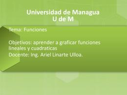 tema 10. Funciones - Msc. Ariel Linarte