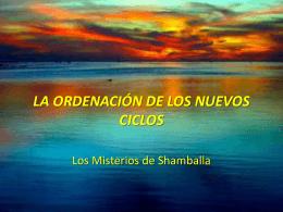 shamballa-ordenación de los nuevos ciclos