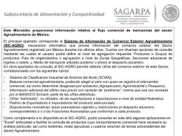 Subsecretaría de Alimentación y Competitividad