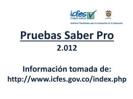 examen icfes saber-pro junio 3 de 2012