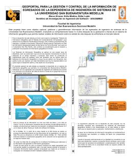 Poster_GIS_Egresados - Biblioteca Digital Universidad de San