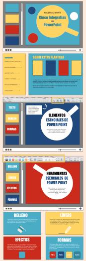 Descarga aquí tus 7 plantillas de infografías gratuitas