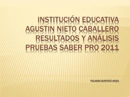 INSTITUCIÓN EDUCATIVA AGUSTIN NIETO CABALLERO