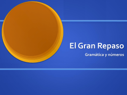 El Gran Repaso - Wildwood School | Haiku Learning