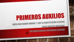 Presentación de PowerPoint - CEIP La Constitución, Illescas