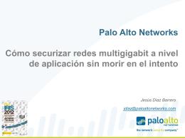 Cómo securizar redes multigigabit a nivel de aplicación