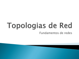 Topologias de Red