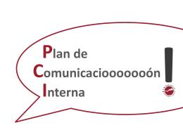 Diapositiva 1 - Plan de Comunicación Interna