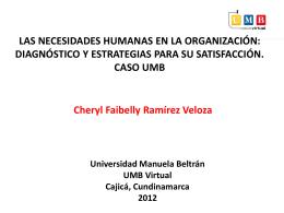 Diapositiva 1 - Universidad Manuela Beltrán