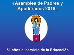 asamblea 2015 - Nuestra Señora del Pilar