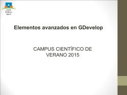 4 – Elementos Avanzados en GDevelop