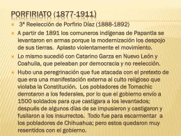 PORFIRIATO (1877