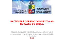 PROYECTO TELEPSIQUIATRÍA - Escuela de Salud Pública