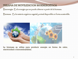 Movilización Bioenergética