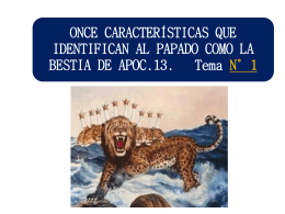 433ONCE CARACTERISTICAS QUE IDENTIFICAN AL