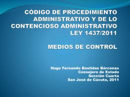 DR BÁSTIDAS MEDIOS DE CONTROL