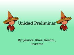 Unidad Preliminar